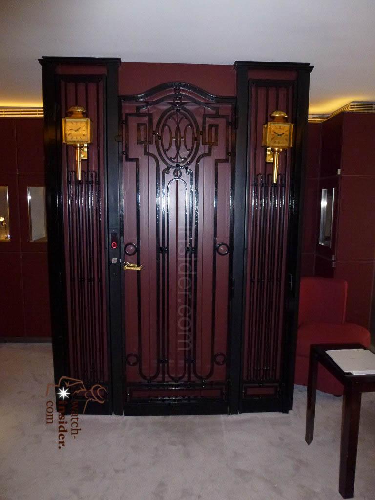 The famous Lift at Hermès 24 Rue du Faubourg Saint-Honoré in Paris