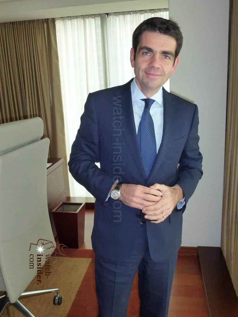 Jerome Lambert, CEO of Montblanc