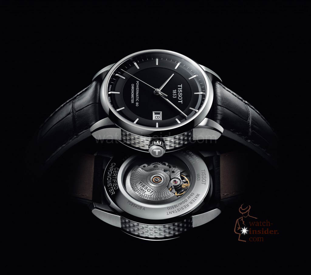 Tissot Luxury Automatic with the Powermatic 80 Automatic caliber
