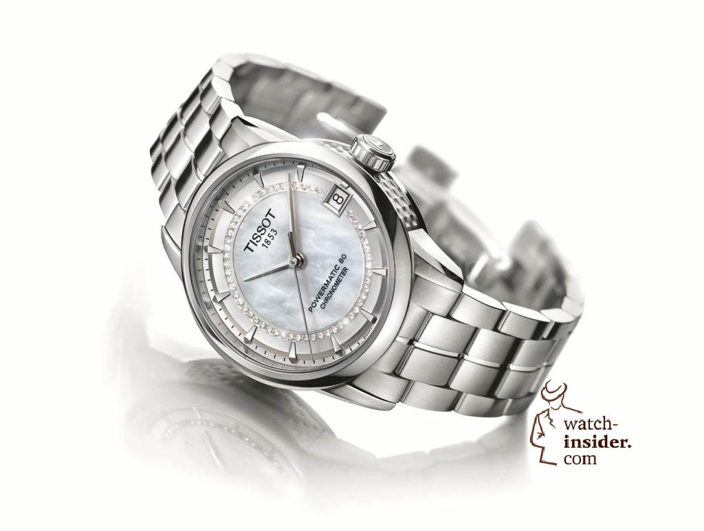 Tissot Luxury Automatic LADY with the Powermatic 80 Automatic caliber