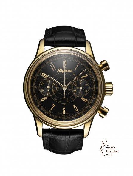 "Alpina ""Heritage Pilot Chronograph Automatic"""