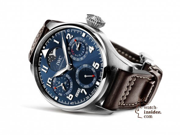 "The unique IWC Big Pilot's Watch Perpetual Calendar Edition ""Le Petit Prince"" in platinum (Ref. IW502801)"