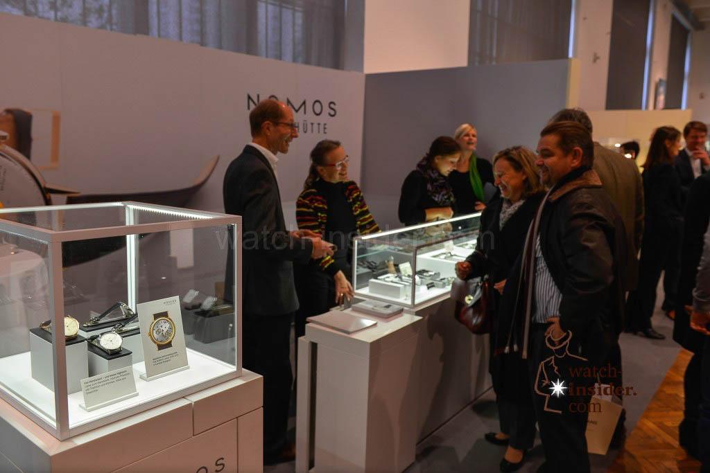 Impressions from Viennatime: Nomos Glashütte