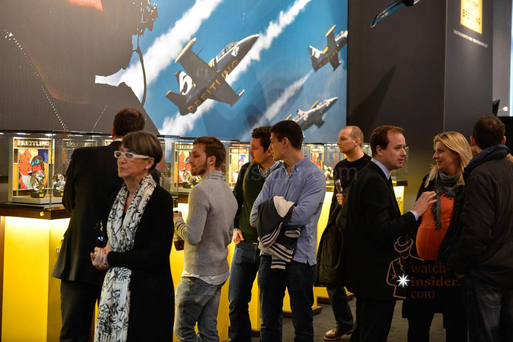 Impressions from Viennatime: Breitling