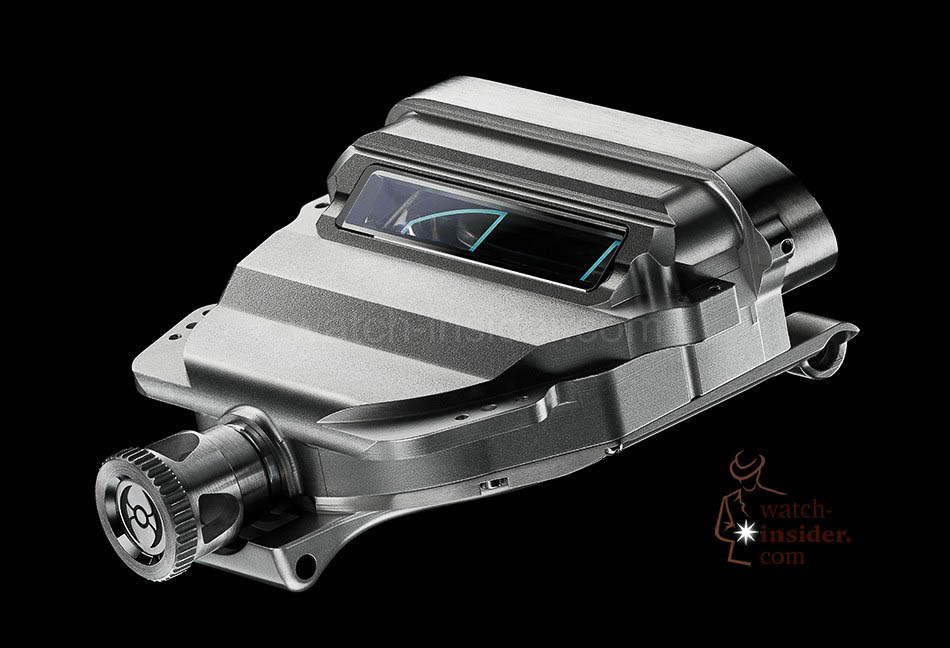 MB & F Horological Machine No.5 RT ... the container
