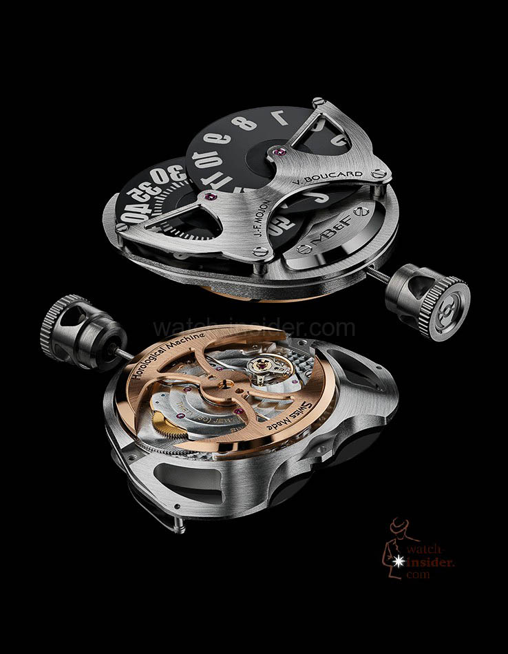 MB & F Horological Machine No.5 RT ... the engine