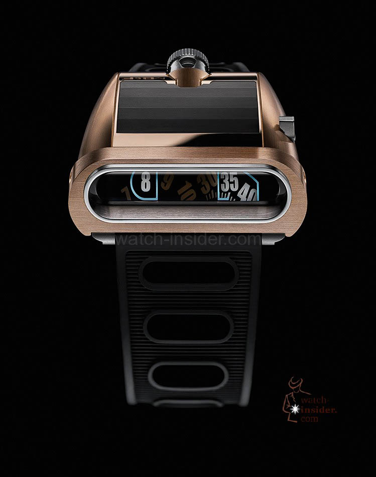MB & F Horological Machine No.5 RT ... the face