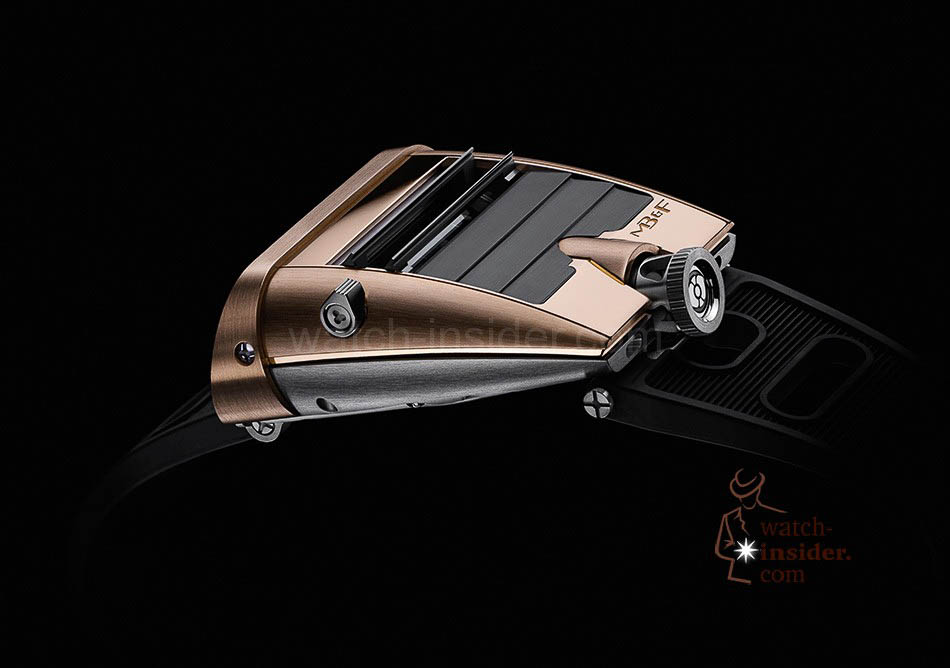 MB & F Horological Machine No.5 RT ... the flaps