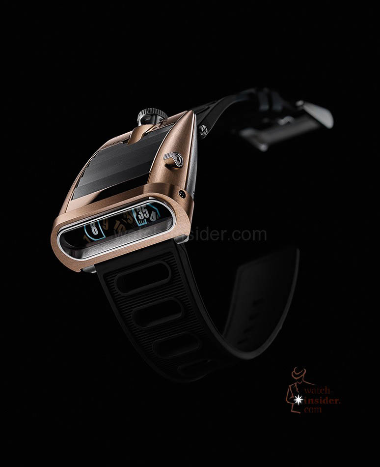 MB & F Horological Machine No.5 RT ... front view