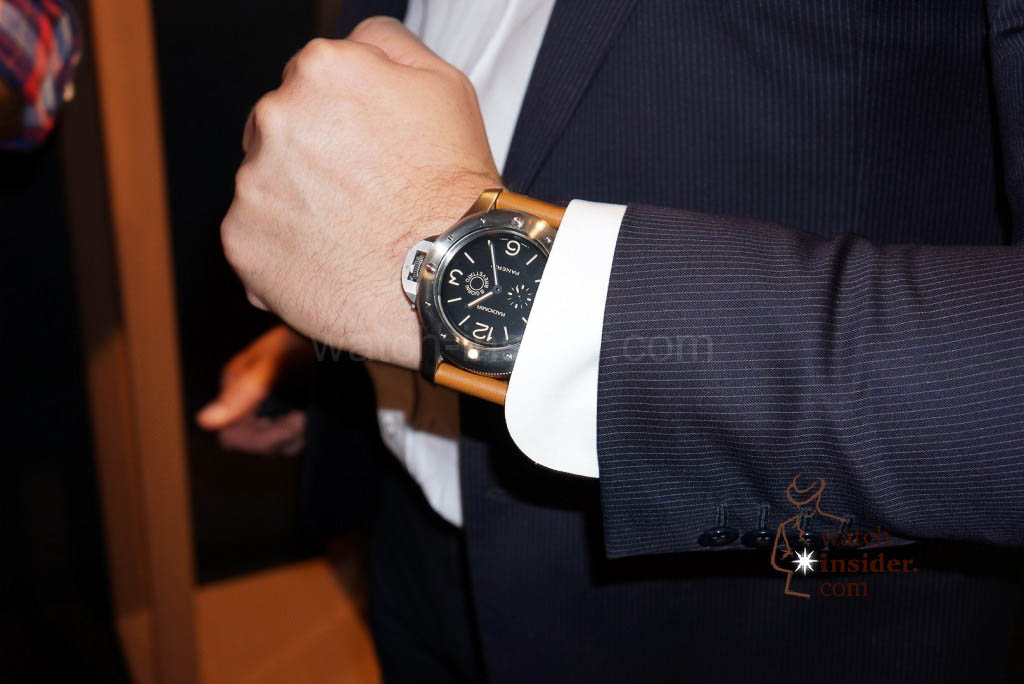 Panerai Radiomir Egiziano PAM 341 seen at the Panerai & watch-insider lunch last Friday during Munichtime