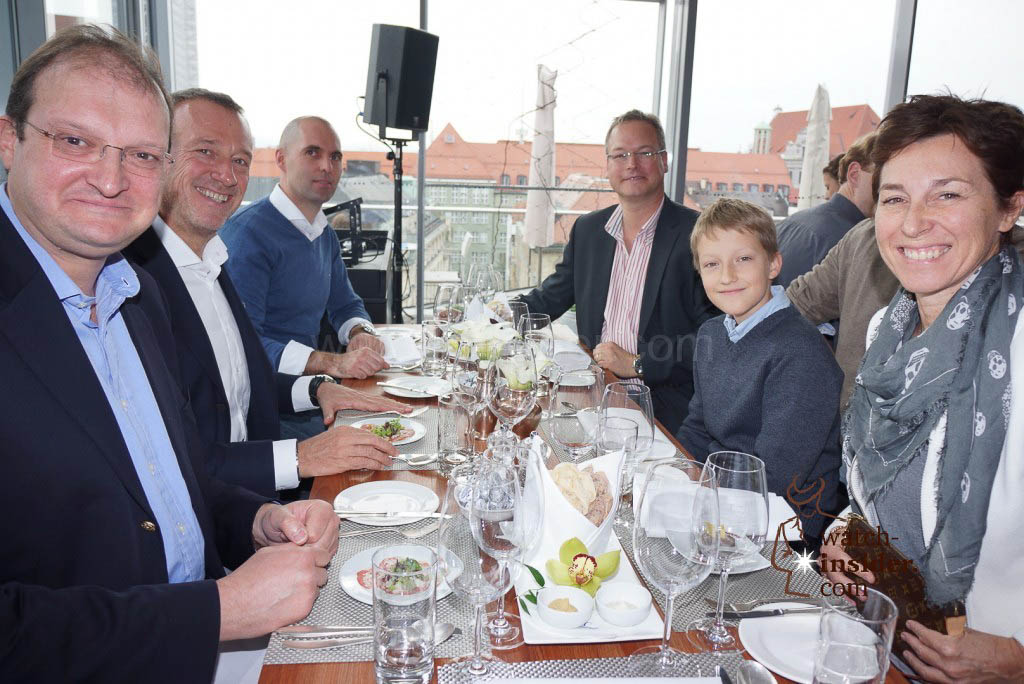 The the Panerai & watch-insider lunch last Friday during Munichtime. Second right is Max