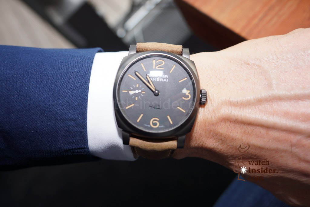 "Panerai Radiomir 1940 3 Days – 47mm ""Paneristi Forever"" at the Panerai & watch-insider lunch last Friday during Munichtime"