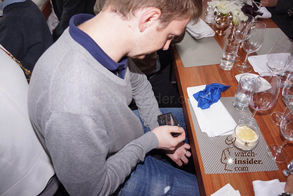 The Panerai & watch-insider lunch last Friday during Munichtime