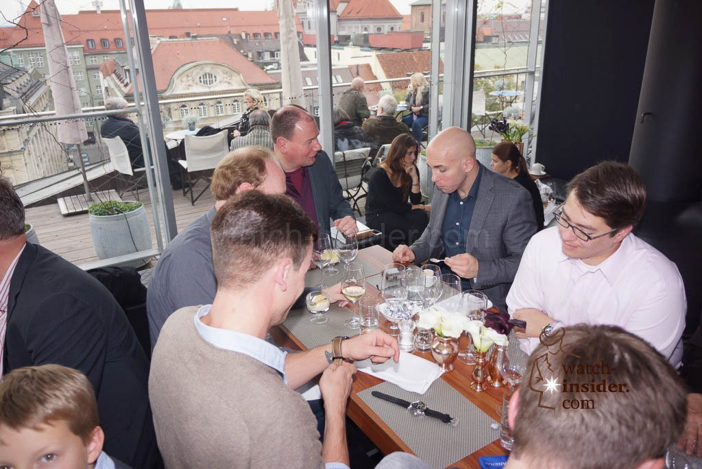 The the Panerai & watch-insider lunch last Friday during Munichtime