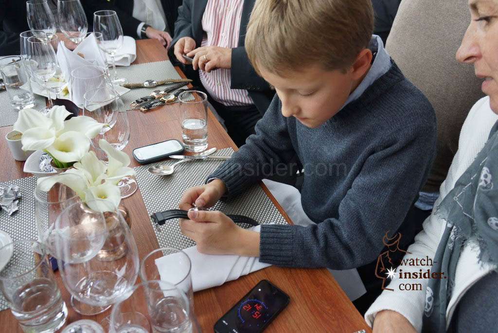 Max was really happy at the Panerai & watch-insider lunch last Friday during Munichtime