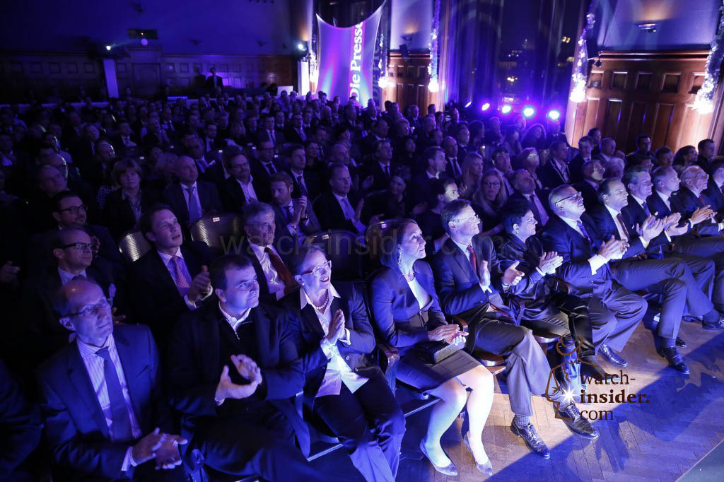 More than 200 invited VIPs attending the price giving ceremony at the inaugural evening of Viennatime