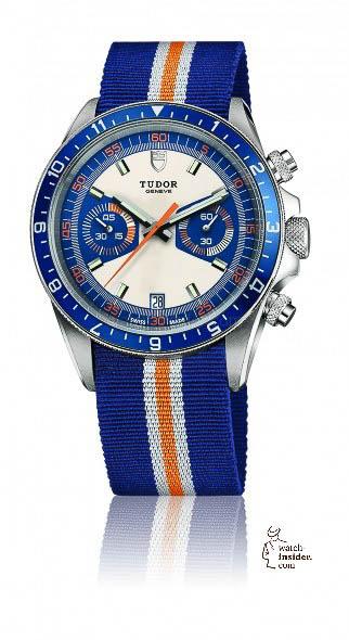 "Tudor ""Heritage Chrono Blue"""