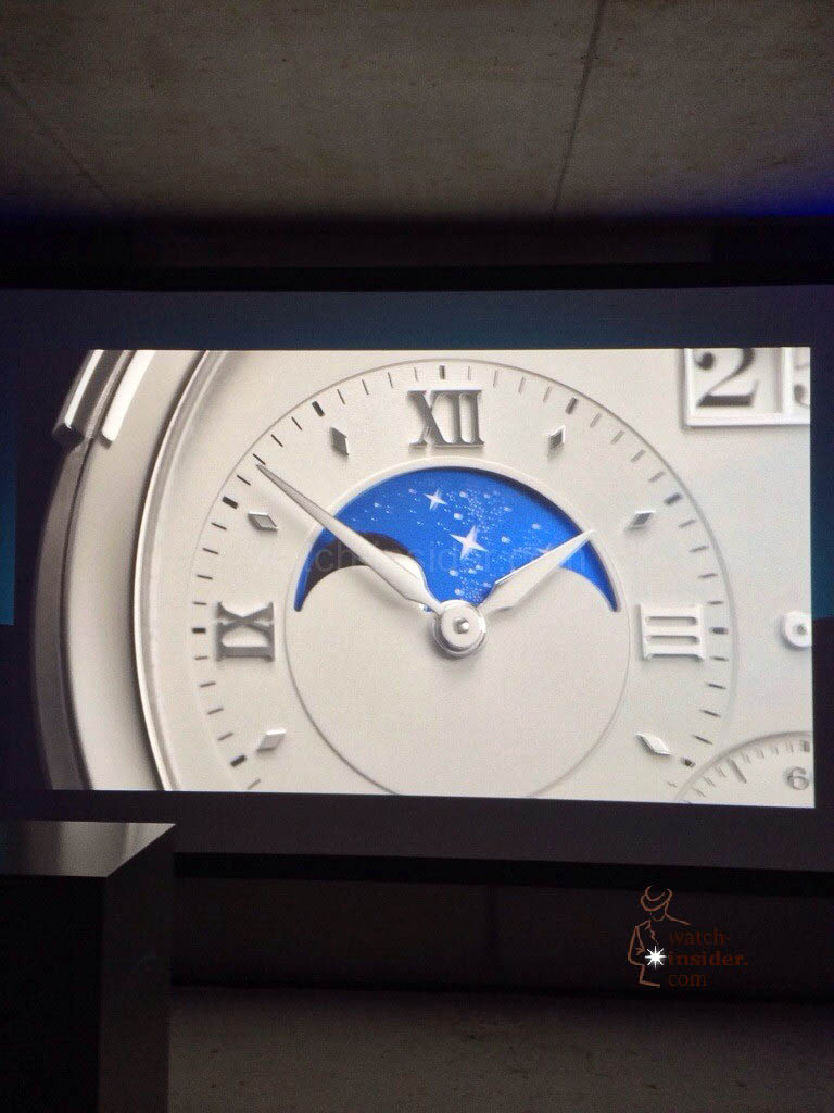 Pre SIHH 2014: Grand Lange 1 Moon Phase by A. Lange & Söhne