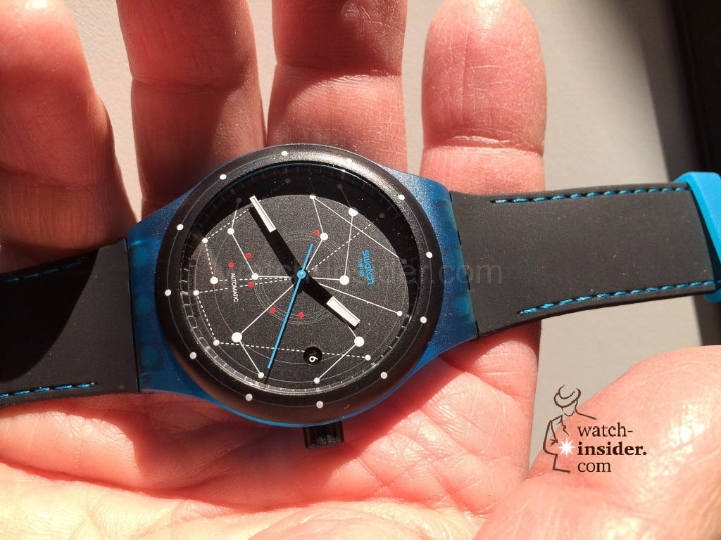 Swatch Sistem51 Blue SUTS401