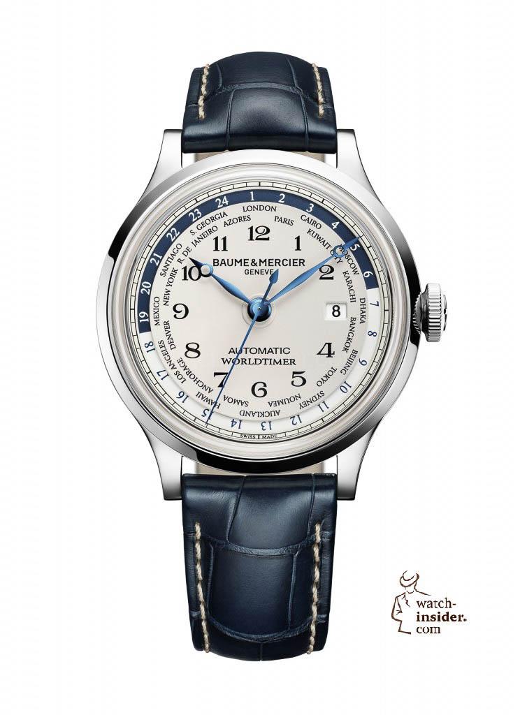 Baume & Mercier Capeland Automatic Worldtimer