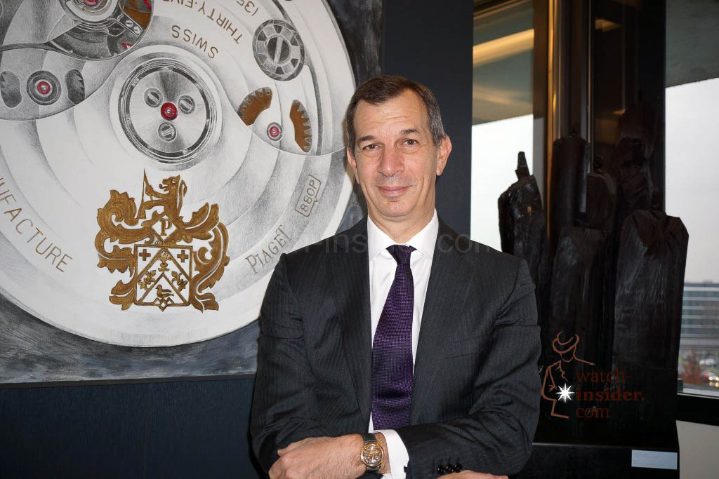 Piaget-CEO Philippe Léopold-Metzger