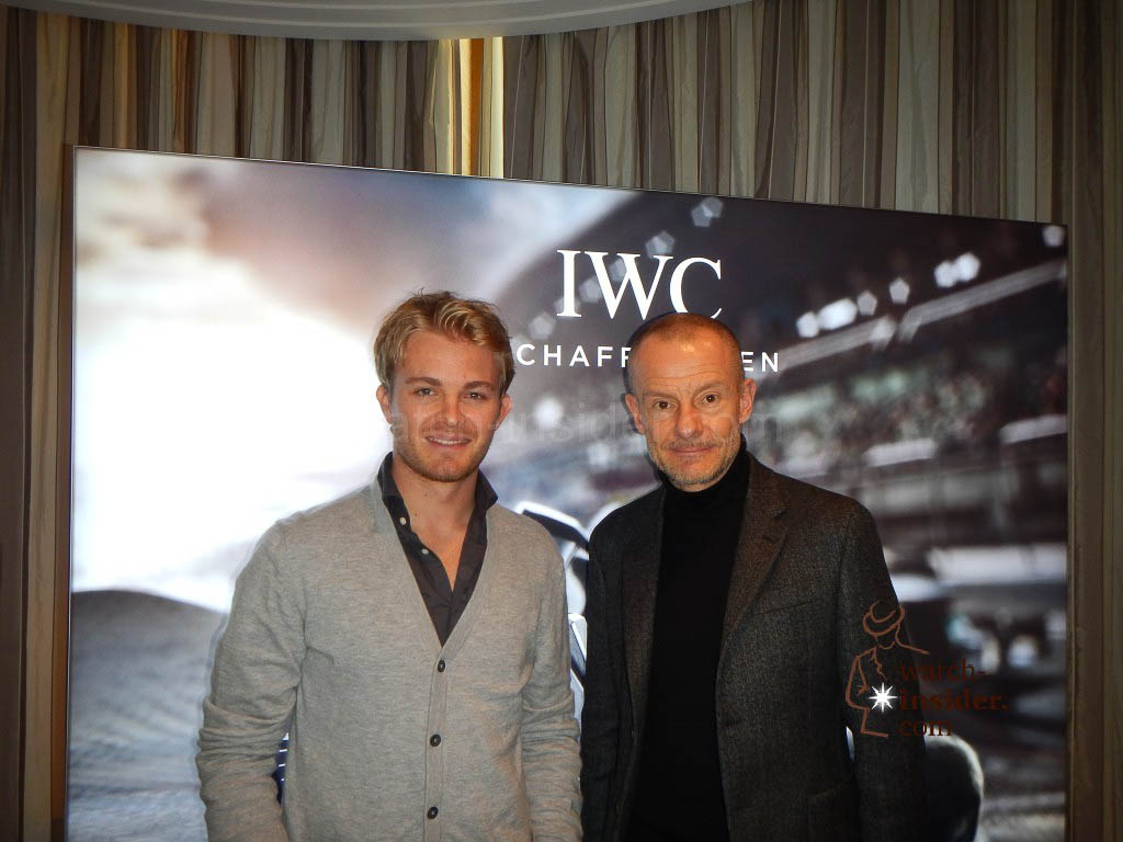 Nico Rosberg and Alexander Linz in Munich