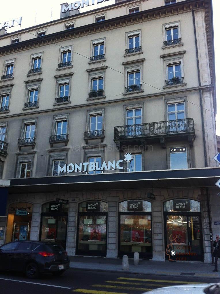 Montblanc Boutique in Geneva