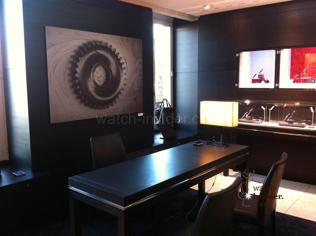 """Montblanc Boutique exhibition """"Un movement, deux temps"""" in Geneva"""