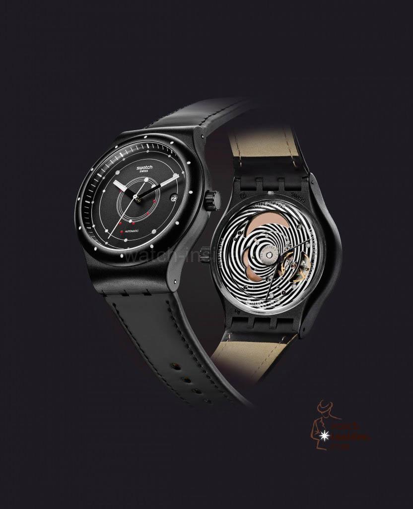 Swatch Sistem51 SUTB400 Black
