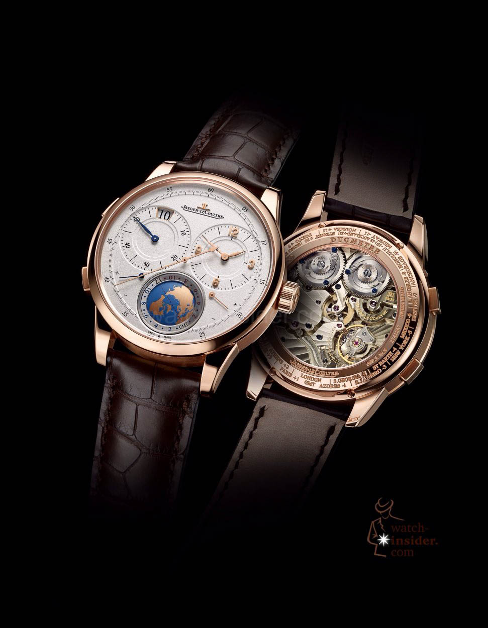 Pre-SIHH 2014: Jaeger-LeCoultre Duomètre Unique Travel Time