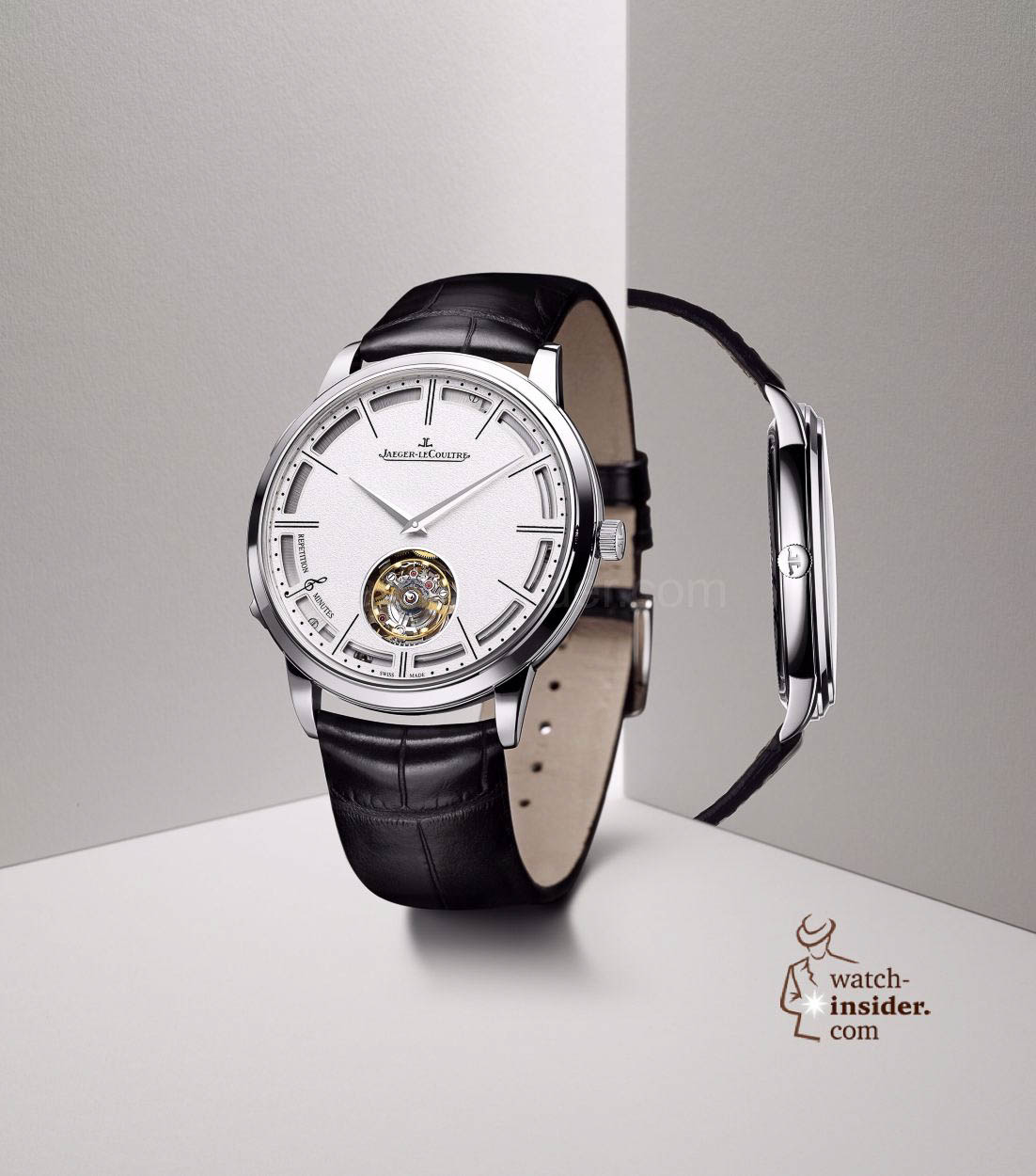 Pre-SIHH 2014: Jaeger-LeCoultre Master Ultra Thin Minute Repeater Flying Tourbillon