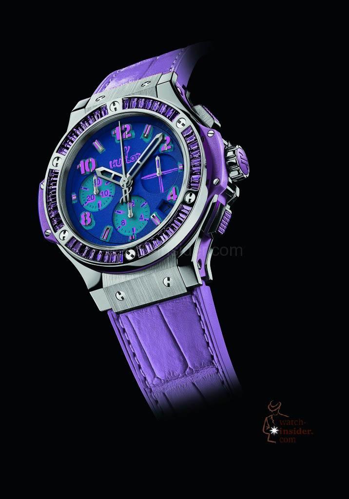 Hublot Big Bang Pop Art Steel/Purple – Limited edition of 200 pieces