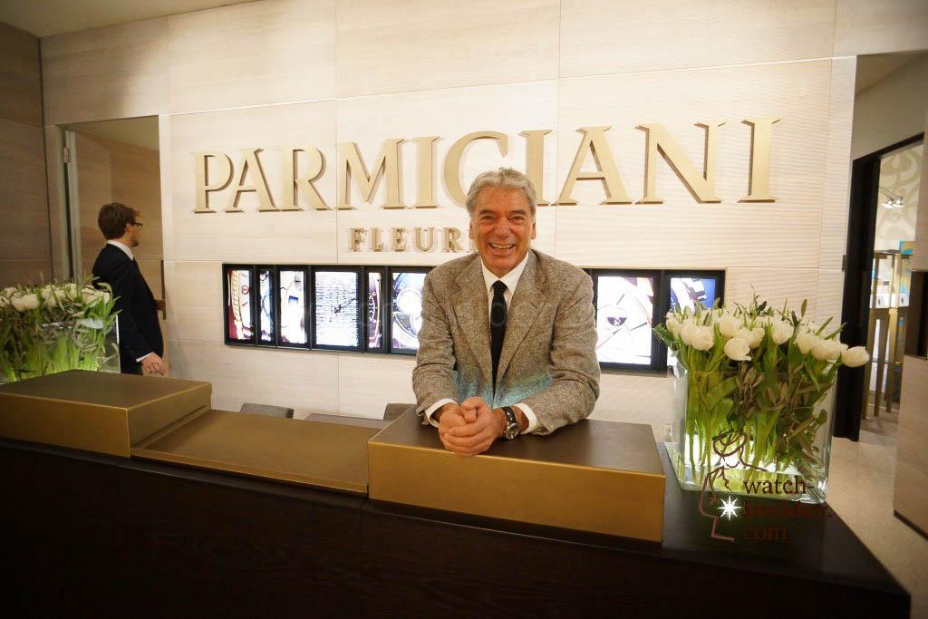 Jean-Marc Jacot CEO of Parmigiani