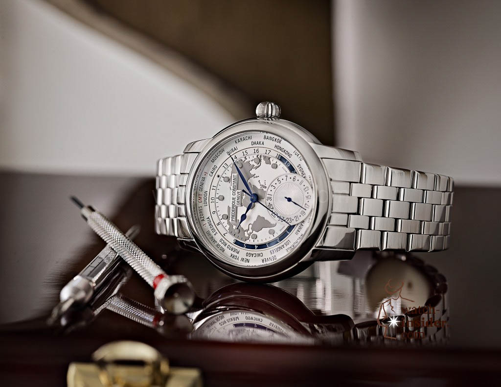 The Frédérique Constant Classics Manufacture Worldtimer