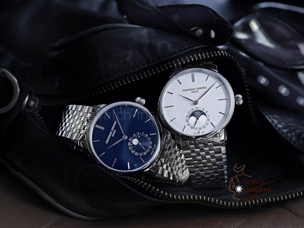 Frederique Constant Slimline Moonphase Manufacture FC-705S4S6B & FC-705N4S6B