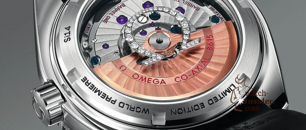 Omega Seamaster Planet Ocean Platinum with diamond-set ceramic and sapphire