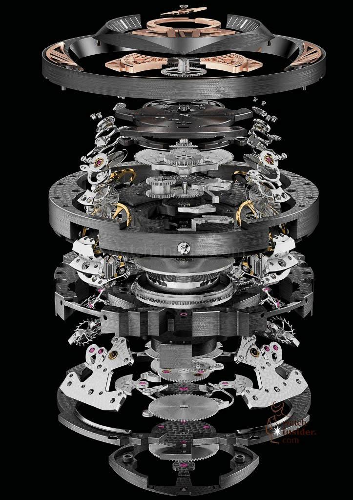 Roger Dubuis Excalibur Quatuor Titanium calibre RD101