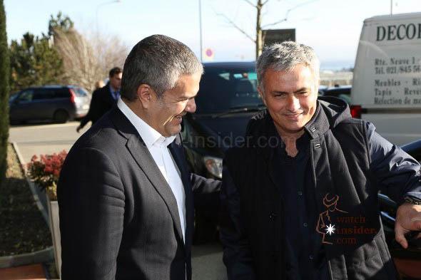 Hublot CEO Ricardo Guadalupe and José Mourinho