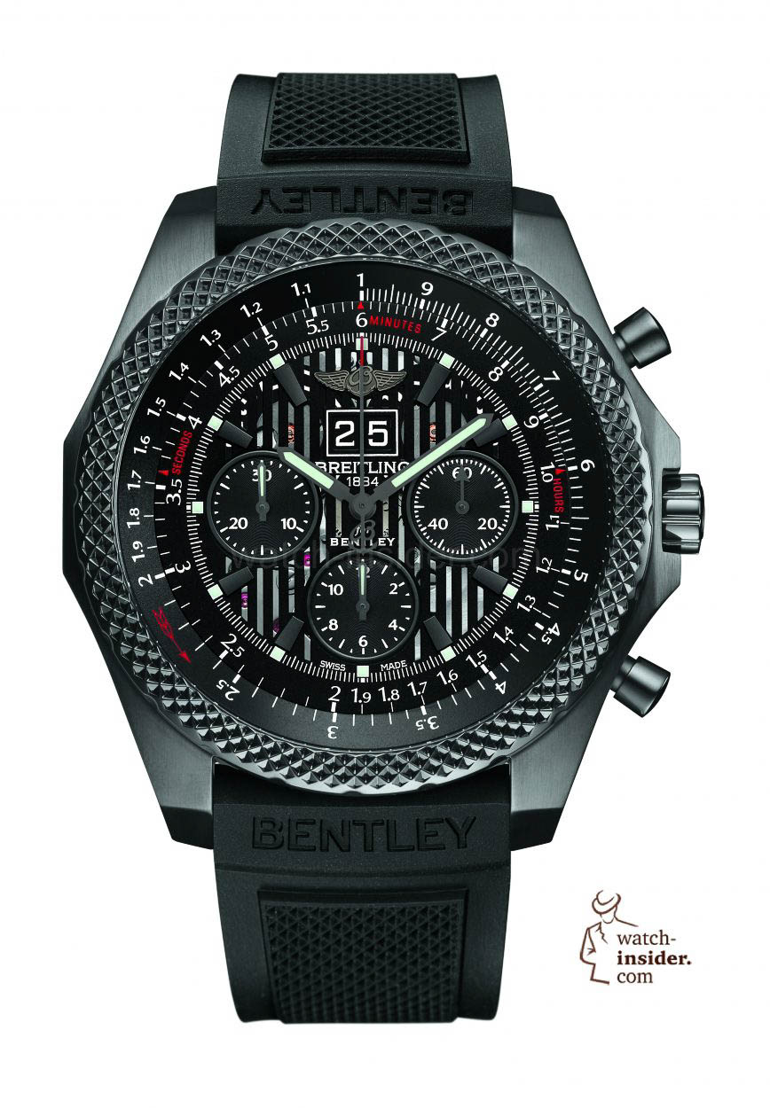 Pre-Baselworld 2014: Breitling for Bentley 6.75 Midnight ...
