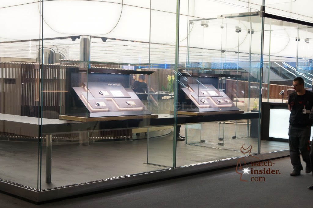 The new Patek Philippe booth at Baselworld 2014