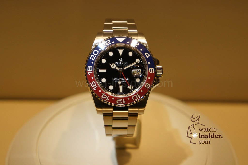 The new GMT Master II in white gold