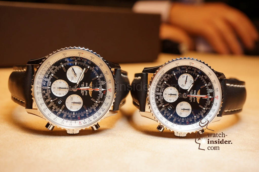 "Breitling Navitimer 01 46 mm and the ""old"" Navitimer"