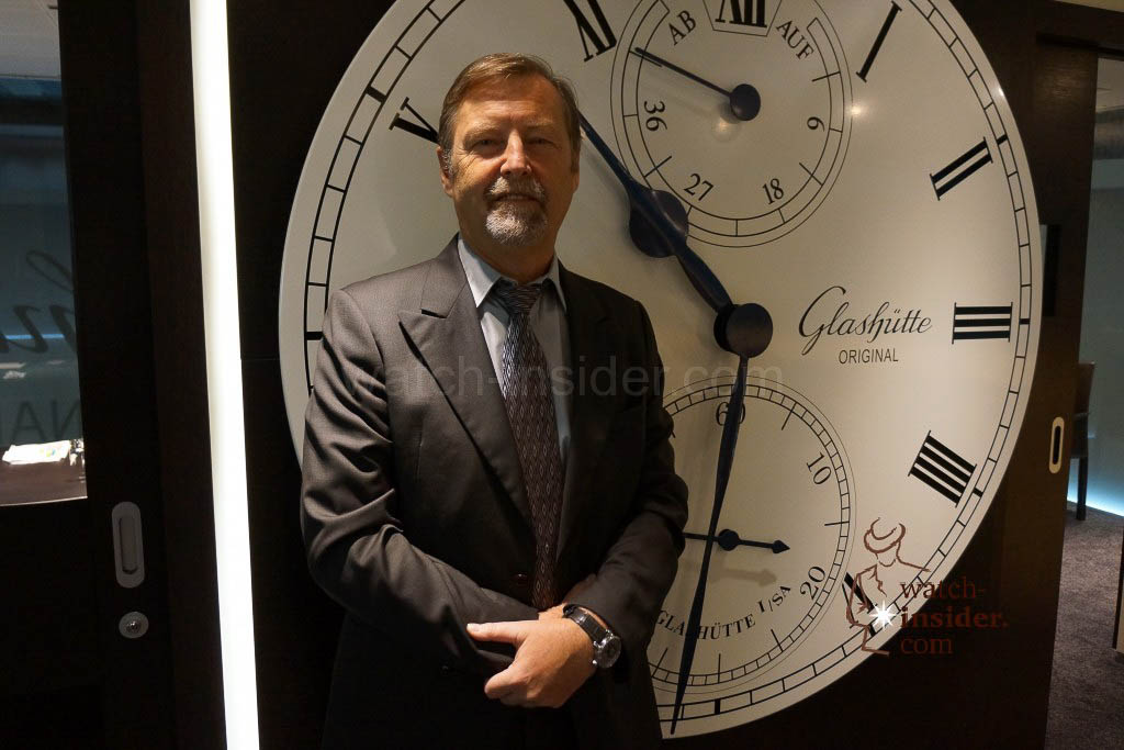 Yann Gamard, CEO Glashütte Original