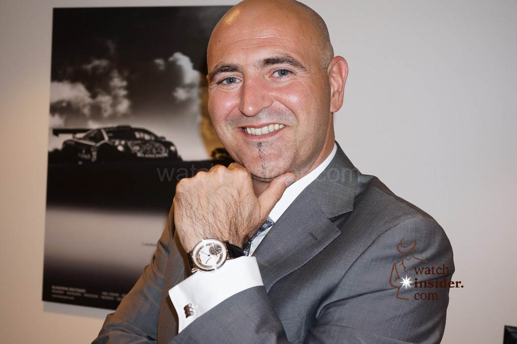 Marc Hayek, CEO Blancpain and Breguet