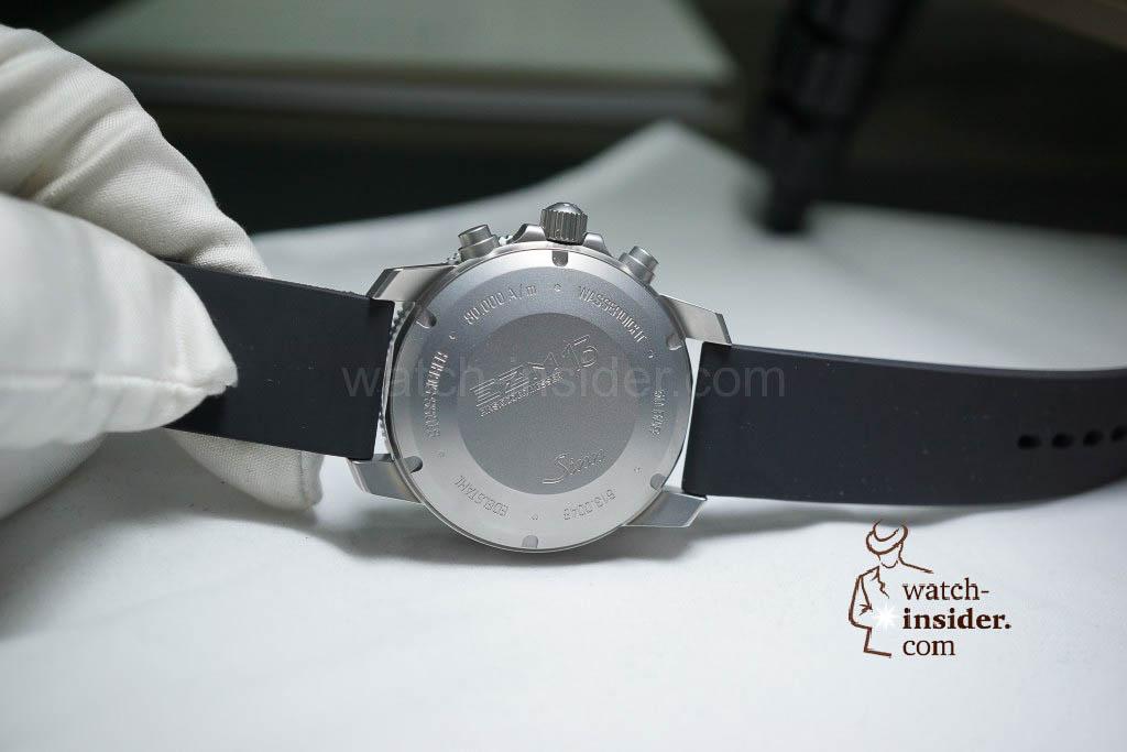 Sinn EZM 13 diving chronograph