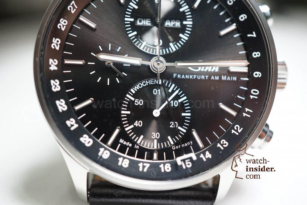 Sinn 6052 The Frankfurt Financial District Watch with calendar week display.