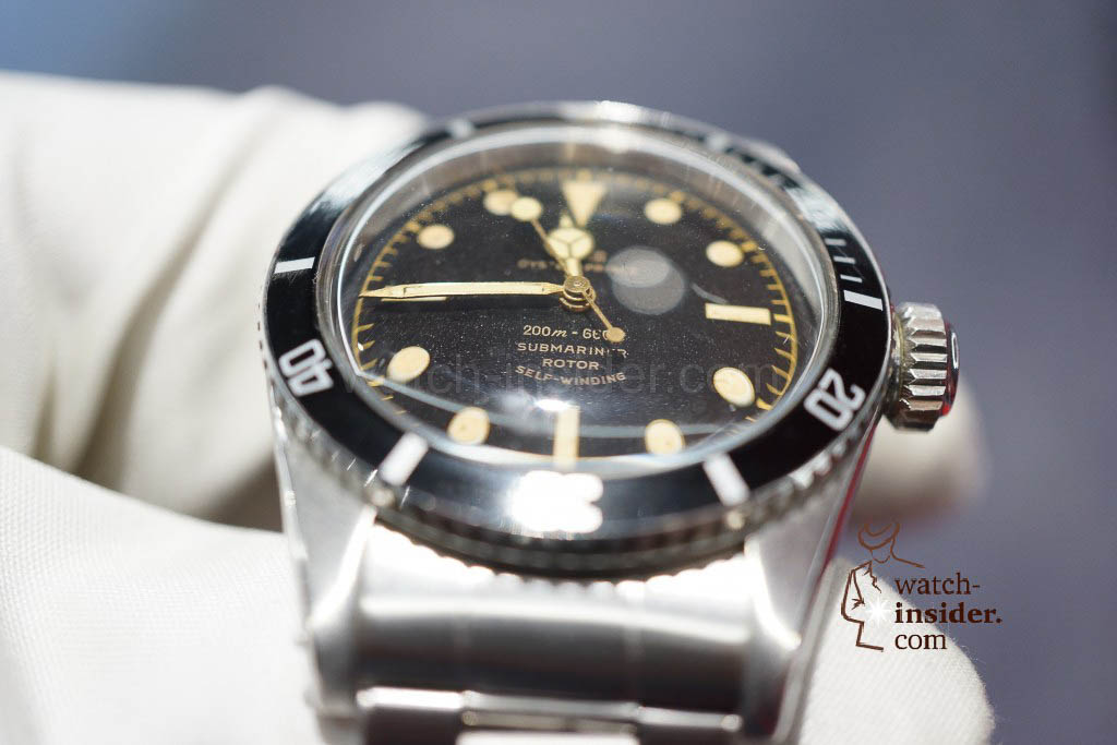 "The 1958 Tudor Oyster prince Submariner ""Big Crown"" 7924"
