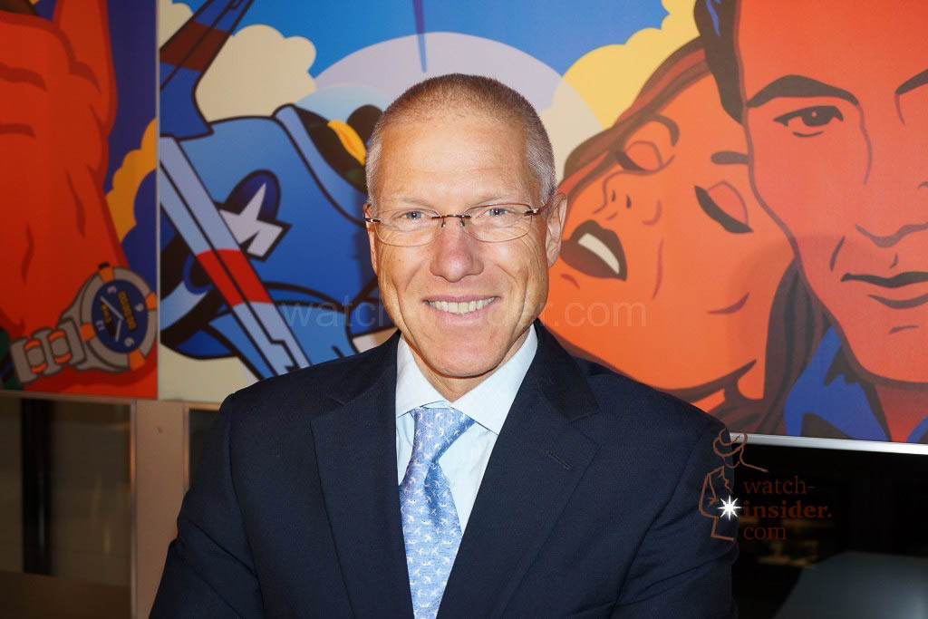 Jean-Paul Girardin, CEO Breitling