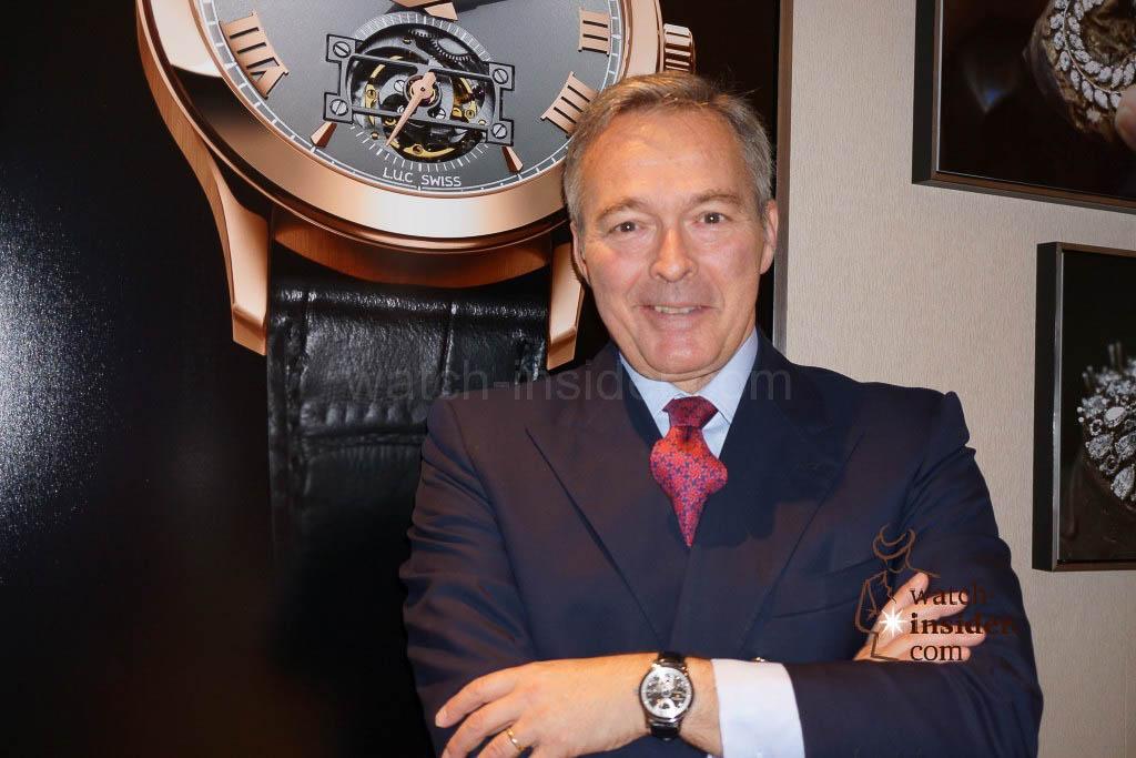 Karl-Friedrich Scheufele, Co-President of Chopard