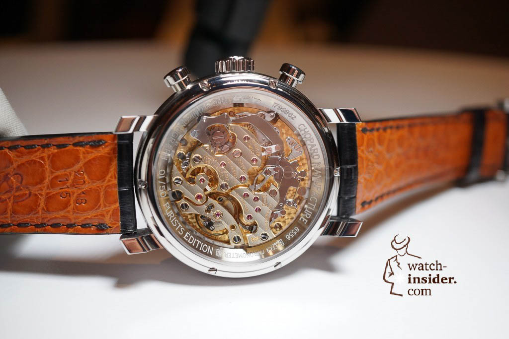 Chopard L.U.C 1963 Chronograph in steel, a special, limited edition of 50 pieces for The Purists